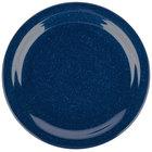 Carlisle 4350135 Dallas Ware 9 inch Cafe Blue Melamine Plate - 48/Case
