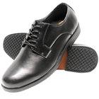 Genuine Grip 9540 Men's Size 10 Medium Width Black Oxford Non Slip Dress Shoe