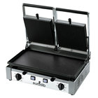 Eurodib PDL3000 20 inch Double Panini Grill with Grooved Top and Smooth Bottom - 220V, 3000W