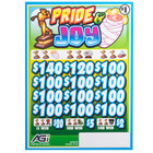 Pride & Joy 3 Window Pull Tab Tickets - 2716 Tickets per Deal - Total Payout: $2316