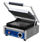 Globe GSG10 Bistro Series Sandwich Grill with Smooth Plates - 1800W