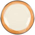 Ivory / Orange