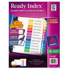 Avery AVE11127 Ready Index Monthly Multi-Color Table of Contents Dividers