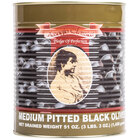 Medium Pitted Black Olives 6 - #10 Cans / Case
