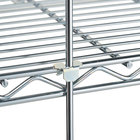 Metro R72C 72 inch Chrome Wire Shelving Rod