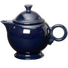 Homer Laughlin 496105 Fiesta Cobalt Blue 44 oz. Covered Teapot - 4/Case
