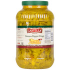 1 Gallon Hot Banana Pepper Rings - 4/Case