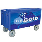 Blue Extra Large Super Arctic 080 Mobile 456 Qt. Cooler with Wheels
