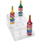 Cal-Mil P297 Clear Acrylic 4 Tier Bottle Organizer- 12