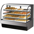 True TCGD-59 59 inch Stainless Steel Dry Bakery Display Case - 28 Cu. Ft.