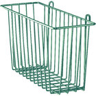 Metro H210-DHG Hunter Green Storage Basket for Wire Shelving 17 3/8 inch x 7 1/2 inch x 5 inch