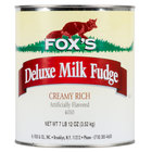 Fox's Hot Fudge Ice Cream Topping #10 Can