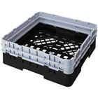 Cambro BR578110 Black Camrack Full Size Open Base Rack with 2 Extenders