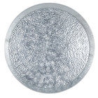 Tablecraft GP12 12 inch Galvanized Steel Round Platter   - 12/Pack