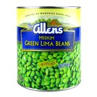 Medium Green Lima Beans - #10 Can