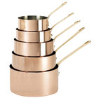 De Buyer 6445.12 0.8 Qt. Copper Sauce Pan