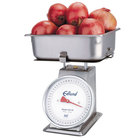 Edlund HD-50P Heavy Duty 50 lb. Produce Scale with Cradle and 4 inch Half Pan