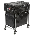 Rubbermaid Collapsible 4 Bushel X-Cart with Black Cover