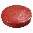 Carlisle 071029 7 inch Polypropylene Terra Cotta Tortilla Server, Hinged Lid - 12/Case