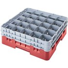 Cambro Full Size 25 Compartment Glass Racks, 6 7/8