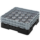 Cambro Full Size 20 Compartment Glass Racks, 11 3/4