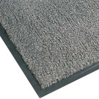 Teknor Apex NoTrax T37 Atlantic Olefin 434-325 3' x 6' Gunmetal Carpet Entrance Floor Mat - 3/8 inch Thick