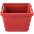 GET ML-148-RSP 28 oz. Red Sensation Square Crock - 12/Case