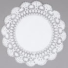 Hoffmaster 500239 12 inch Lace Doily - 1000/Case