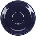 Homer Laughlin 470105 Fiesta Cobalt Blue 5 7/8 inch Saucer - 12/Case
