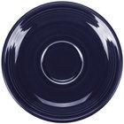 Homer Laughlin 470105 Fiesta Cobalt Blue 5 7/8 inch Saucer - 12/Case