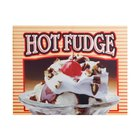 APW Wyott 21766100 Replacement Hot Fudge Decal for W-4BPKG and W-4B Heated Countertop Warmers