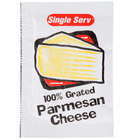 Grated Parmesan Cheese 3.5 Gram Portion Packet 200/Case   - 200/Case