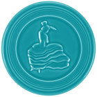 Homer Laughlin 443107 Fiesta Turquoise 6 inch Trivet - 6/Case