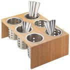 Cal-Mil 1425-6-60 Bamboo Six Cylinder Display