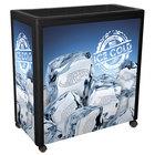 Black Avalanche 300 Mobile 112 Qt. Cooler Merchandiser