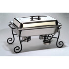 American Metalcraft CF1  Wrought Iron Full Size Chafer Stand