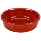 Homer Laughlin 460326 Fiesta Scarlet 14.25 oz. Nappy Bowl - 12 / Case