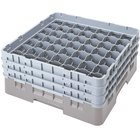 49 Compartment Cambro Glass Racks and Extenders