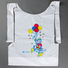 Royal Paper CPB10 Child's Poly Bib with Clown - 500/Box