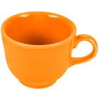 Homer Laughlin 452325 Fiesta Tangerine 7.75 oz. Cup - 12 / Case