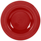 Homer Laughlin 462326 Fiesta Scarlet 21 oz. Pasta Bowl - 12 / Case