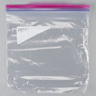 SC Johnson Ziploc 10 9/16 inch x 10 3/4 inch One Gallon Storage Bag with Double Zipper and Write-On Label - 250/Case