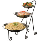 American Metalcraft IS15 Three-Tier Display Stand for Round Bowls
