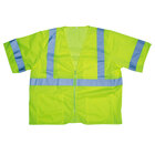 Lime Class 3 High Visibility Safety Vest - XL