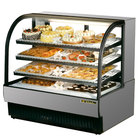 True TCGR-50 50 inch Stainless Steel Refrigerated Bakery Case - 27.4 Cu. Ft.