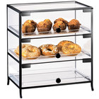 Cal-Mil 1735-1014 Iron Three Tier Display Case - 16 inch x 15 inch x 17 1/2 inch
