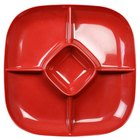 Passion Red Chip and Dip Platter - 6/Pack