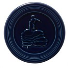 Homer Laughlin 443105 Fiesta Cobalt Blue 6 inch Trivet - 6 / Case