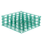 25 Compartment Catering Glassware Basket - 3 1/2 inch x 3 1/2 inch x 6 inch Compartments