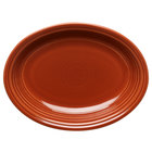 Homer Laughlin 457334 Fiesta Paprika 11 5/8 inch Platter - 12 / Case